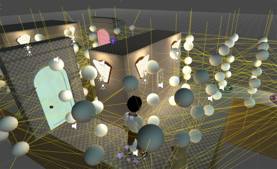 Light probes in Unity